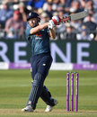 Jonny Bairstow pounds another shot through the leg side, England v Pakistan, 3rd ODI, Bristol, May 14, 2019
