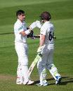 Rory Burns and Dean Elgar made centuries for Surrey, Somerset v Surrey, Taunton, 1st day, May 14, 2019