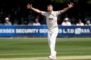 Jamie Porter claimed a four-wicket haul, Essex v Nottinghamshire, County Championship, Chelmsford, 1st day, May 14, 2019