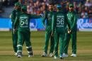 Junaid Khan celebrates dismissing Jonny Bairstow, England v Pakistan, 3rd ODI, Bristol, May 14, 2019