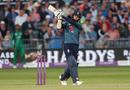 Moeen Ali swats away a pull, England v Pakistan, 3rd ODI, Bristol, May 14, 2019