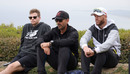 Steven Smith, Justin Langer and David Warner during the Australia World Cup squad's trip to Gallipoli, Gallipoli, May 16, 2019,
