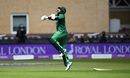 Imam-ul-Haq hops in pain after taking a blow to the elbow, England v Pakistan, 4th ODI, Trent Bridge, May 17, 2019