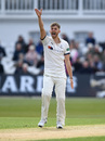Ben Coad appeals for a wicket, Notts v Yorkshire, County Championship Division One, Trent Bridge, April 5, 2019