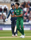 Mohammad Hasnain claimed a breakthrough, England v Pakistan, 4th ODI, Trent Bridge, May 17, 2019