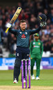 Jason Roy brings up his century, England v Pakistan, 4th ODI, Trent Bridge, May 17, 2019