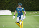 Steven Smith bats during Australia training, Whitgift School, May 18, 2019