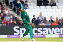 Imad Wasim bowls, England v Pakistan, 5th ODI, Headingley, May 19, 2019