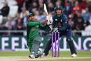 Sarfaraz Ahmed slams another shot over the leg side, England v Pakistan, 5th ODI, Headingley, May 19, 2019