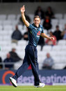 Chris Woakes claimed his fourth wicket of the innings, England v Pakistan, 5th ODI, Headingley, May 19, 2019