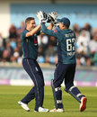 Chris Woakes claimed a five-wicket haul, England v Pakistan, 5th ODI, Headingley, May 19, 2019