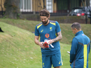 Kane Richardson at Australia's training session, London, May 19, 2019