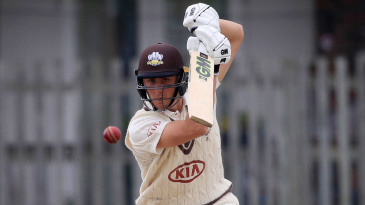 Surrey's Will Jacks on the drive