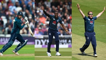James Vince, Jofra Archer and Liam Dawson have all been named in England's World Cup 15