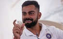Virat Kohli breaks into a smile during a press conference, Mumbai, May 21, 2019