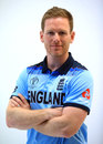 Eoin Morgan models the new England World Cup kit, May 21, 2019