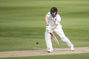 Stiaan van Zyl gets on to the front foot, Northamptonshire v Sussex, County Championship, Wantage Road, May 22, 2019