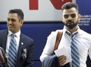 Virat Kohli and MS Dhoni reach the team hotel in London, World Cup 2019, London, May 22, 2019