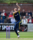 Kyle Abbott bowls, Somerset v Hampshire, Royal London One-Day Cup, Taunton, May 5, 2019