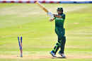 Imam-ul-haq dragged one onto his stumps, Afghanistan v Pakistan, World Cup 2019, warm-up, Bristol, May 24, 2019