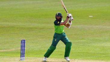 Hashim Amla plays a cut