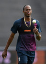 Jofra Archer takes part in England nets, Southampton, May 24, 2019