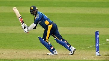 Angelo Mathews clips one away