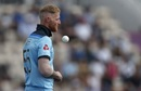 Ben Stokes was forced to complete Mark Wood's over, England v Australia, World Cup 2019 warm-up, Southampton, May 25, 2019
