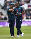 Mark Wood and Jofra Archer both returned to the starting line-up, England v Pakistan, 4th ODI, Trent Bridge, May 17, 2019