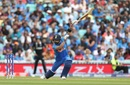Virat Kohli plays all sorts of cover drives, including the one-handed variety, India vs New Zealand, World Cup 2019, warm-up, The Oval, May 25, 2019