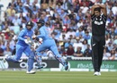 Ravindra Jadeja and Kuldeep Yadav run between the wickets during their ninth wicket partnership, World Cup 2019, warm-up, The Oval, May 25, 2019