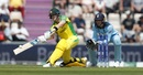 Steven Smith prepares to slog with Jonny Bairstow looking on, England v Australia, World Cup 2019 warm-up, Southampton, May 25, 2019
