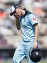 A split finger forces Liam Dawson to walk off, England v Australia, World Cup 2019 warm-up, Southampton, May 25, 2019