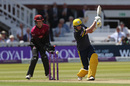 Sam Northeast was bowled hitting across the line, Somerset v Hampshire, Royal London Cup final, Lord's, May 25, 2019