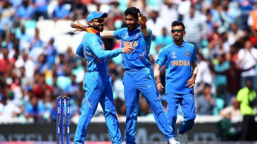 Virat Kohli used his trump card early and Jasprit Bumrah didn't disappoint