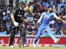 Jasprit Bumrah prepares to bowl to Kane Willaimson, World Cup 2019, warm-up, The Oval, May 25, 2019