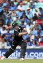 Kane Williamson drives during his half-century, India vs New Zealand, World Cup 2019, warm-up, The Oval, May 25, 2019