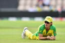 Adam Zampa looks on after a missed chance, England v Australia, World Cup 2019 warm-up, Southampton, May 25, 2019