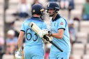 Both Jos Buttler and James Vince notched up half-centuries, England v Australia, World Cup 2019 warm-up, Southampton, May 25, 2019