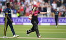 James Hildreth celebrates after hitting the winning runs, Somerset v Hampshire, Royal London Cup final, Lord's, May 25, 2019