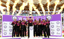 Somerset captain Tom Abell holds the trophy aloft, Somerset v Hampshire, Royal London Cup final, Lord's, May 25, 2019