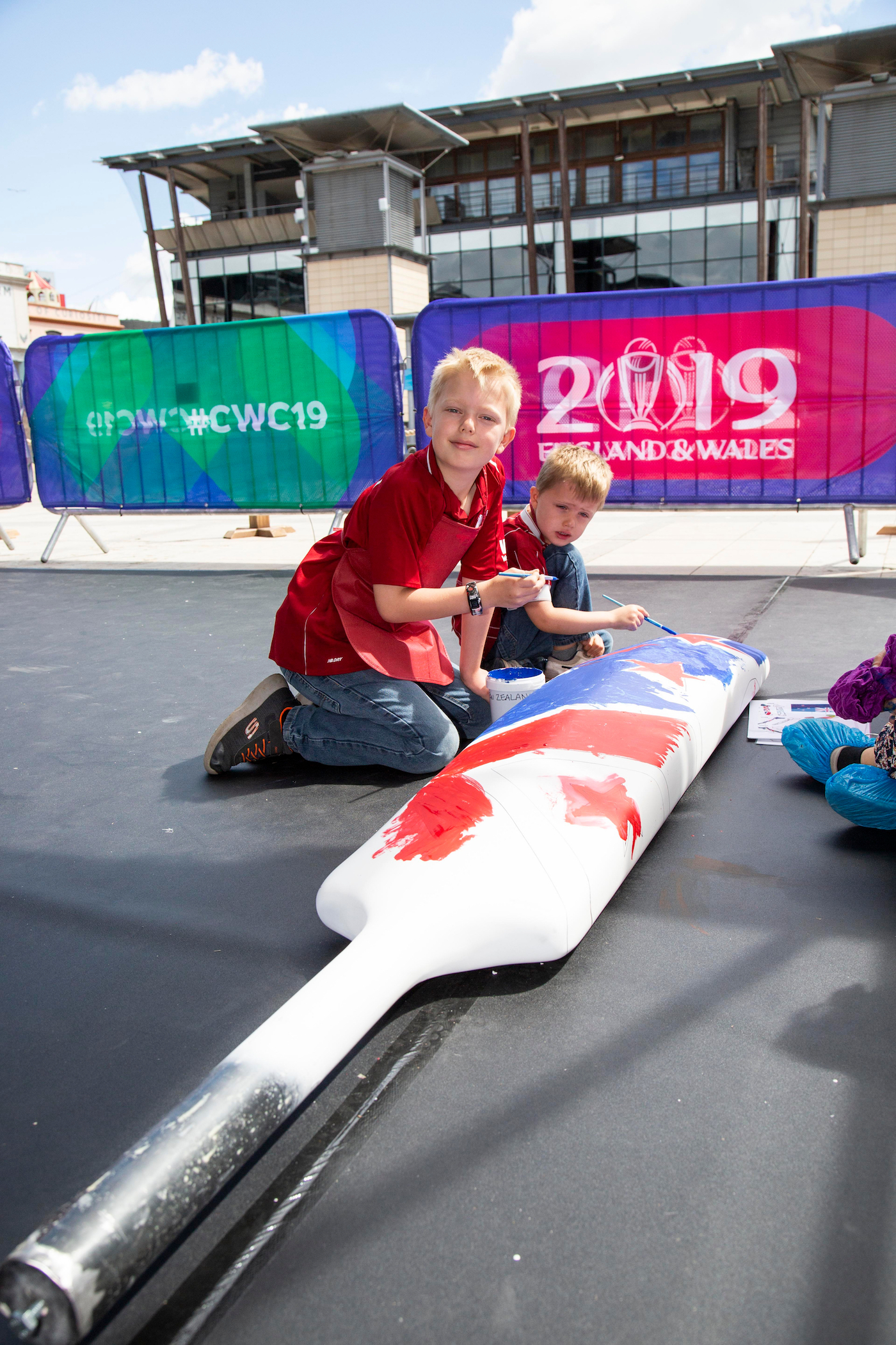 The primary focus of the World Cup experience is kids between the ages of five and 12, fans of tomorrow, who will shape the future of the game in the UK