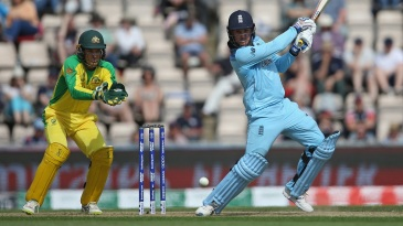 Glenn McGrath believes England's ability to attack with the bat through the innings makes them the team to beat in this World Cup