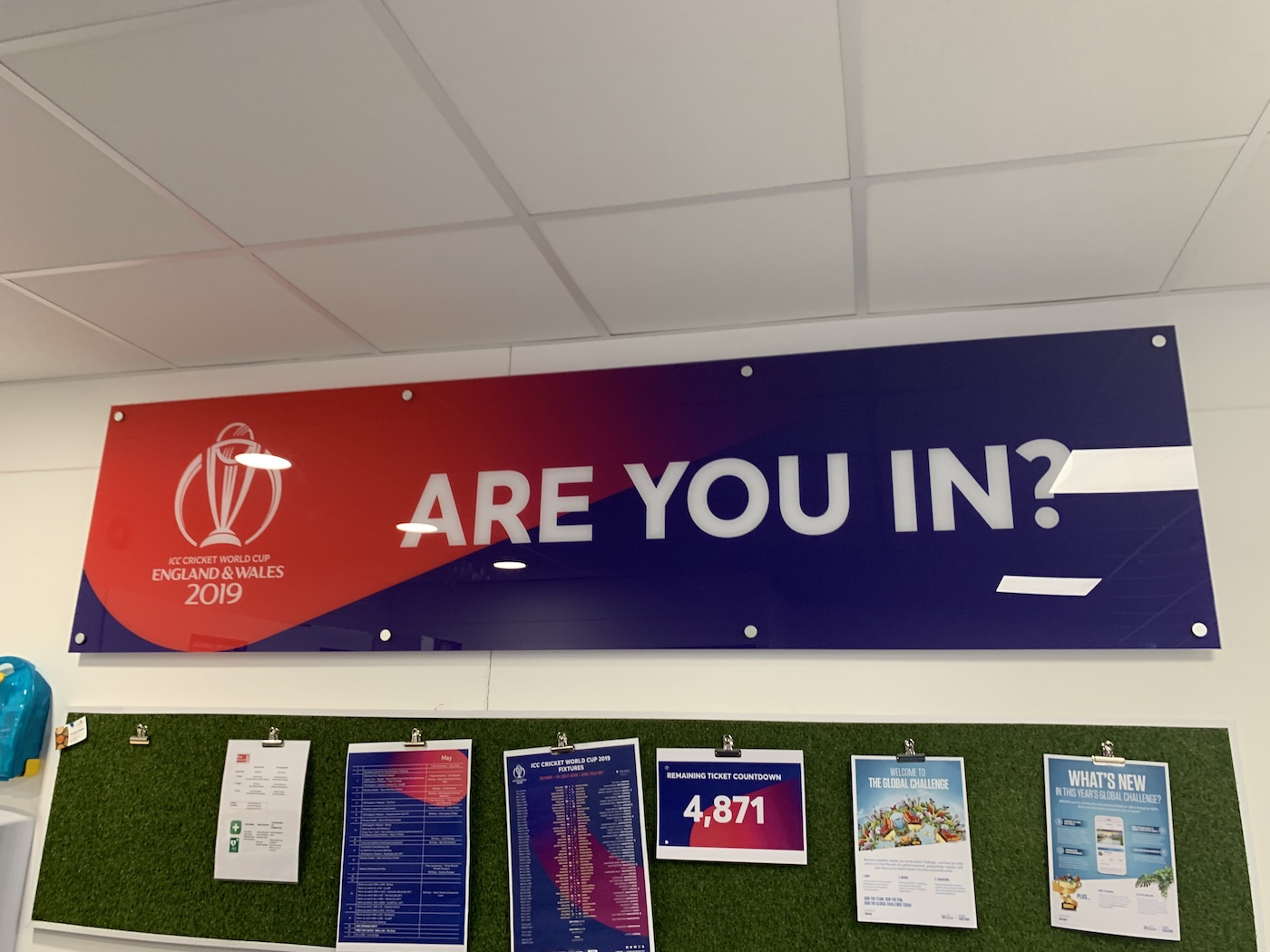 The World Cup pinboard has just one question for you