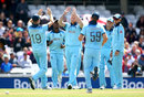 Ben Stokes claims a wicket for England, England v Afghanistan, The Oval, May 27, 2019