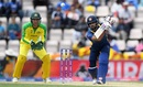 Alex Carey looks on as Kusal Mendis prepares to drive, Australia v Sri Lanka, World Cup 2019 warm-up, Southampton, May 27, 2019