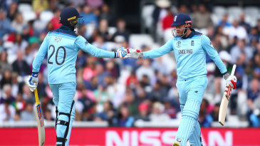 Jonny Bairstow and Jason Roy produced another formidable opening stand