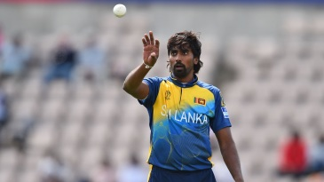 Nuwan Pradeep took the new ball