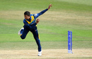 Jeffrey Vandersay bowling, Australia v Sri Lanka, World Cup warm-up, Southampton, May 27, 2019