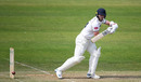 Liam Norwell bats, Somerset v Warwickshire, County Championship Division One, Taunton, May 22, 2019